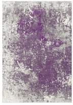 "Surya Aberdine Modern Medium Gray, Dark Purple Area Rug, 7'6""x10'6"""
