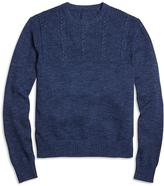 Brooks Brothers Half-Cable Crewneck Sweater