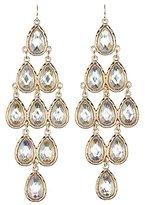 Charlotte Russe Teardrop Kite Earrings
