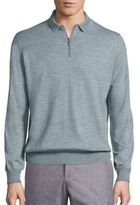 Brunello Cucinelli Long Sleeve Wool Blend Sweater