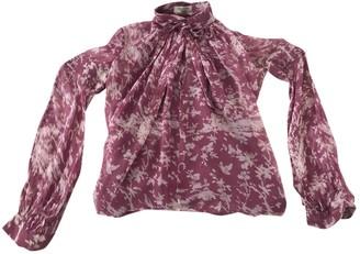 Valentino Purple Silk Top for Women