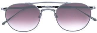 Matsuda Rounded Aviator Sunglasses