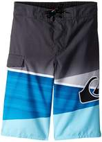 "Quiksilver Slash Logo 14"" Boardshorts (Toddler/Little Kids)"