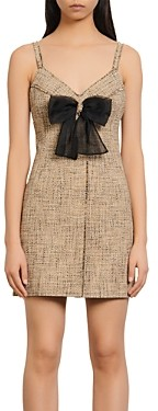 Sandro Soane Tweed Mini Dress