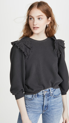 The Great The Eyelet Sweatshirt