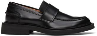Bottega Veneta Black Rubber Sole Loafers