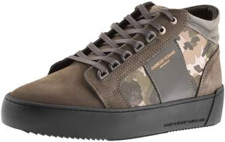 Android Prop Mid GEO Suede Trainers Grey