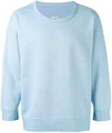 Visvim round neck sweatshirt - men - Cotton/Rayon - 1