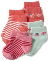 Old Navy Non-Skid Ankle Socks 4-Pack for Toddler & Baby