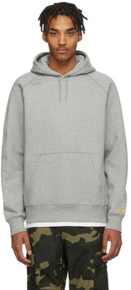 Carhartt Work In Progress Grey Heather Chase Hoodie