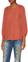 Soft Joie Nanor Silk Peasant Top