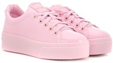 Kenzo Signature patent leather sneakers
