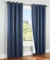 Commonwealth Home Fashions Irongate Insulated Blackout Grommet Top Window Curtain Panel