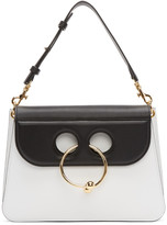 J.W.Anderson Black & White Medium Pierce Bag