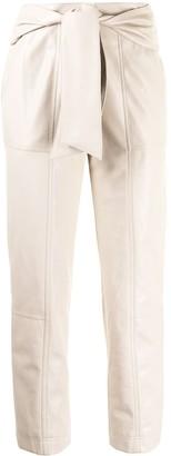Jonathan Simkhai Tie Waist Trousers