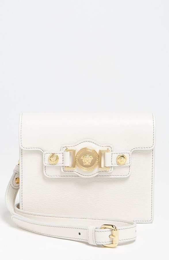 Versace 'Mini - Medusa' Leather Crossbody Bag