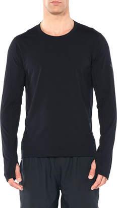 Icebreaker Men's Vultaic Technical Training Long-Sleeve Jersey Shirt