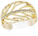 INC International Concepts Pavé Cuff Bracelet, Only at Macy's