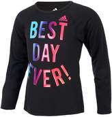 adidas Best Day Ever ClimaLite T-Shirt, Toddler Girls