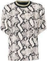 By Malene Birger animal print blouse