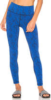 Vimmia Reversible High Waist Legging in Blue. - size L (also in M,S,XS)