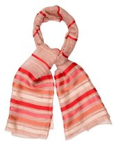 Sonia Rykiel Sheer Striped Scarf