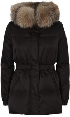 Moncler Fur Trim Fatsia Down Jacket