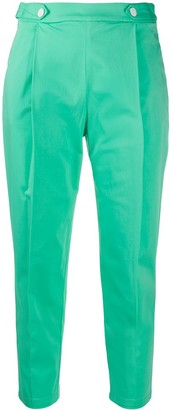 Love Moschino Tapered Cropped Trousers