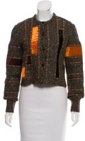 Moschino Cheap & Chic Moschino Cheap and Chic Bouclé Cropped Jacket