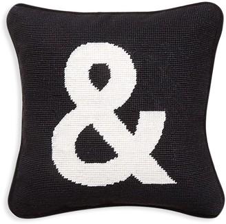 "Jonathan Adler ""&"" Needlepoint Throw Pillow"