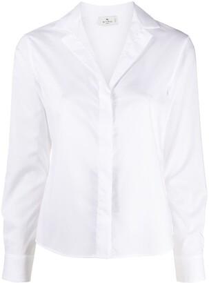 Etro Cuban collar shirt