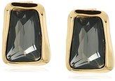 """Robert Lee Morris Set In Stone"""" Faceted Stone Stud Earrings"""