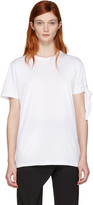 J.W.Anderson White Single Knot T-shirt