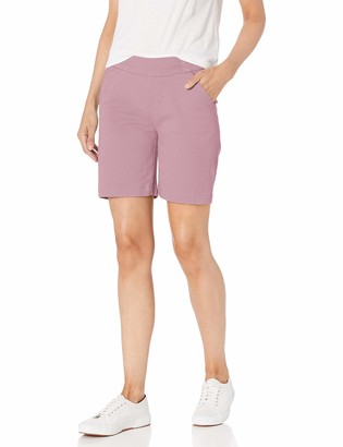"""Jag Jeans Women's Gracie Pull On 8"""" Short"""