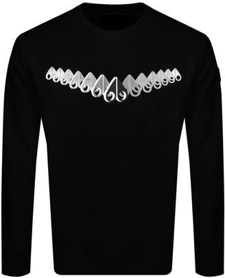 Moose Knuckles 3D Perspective Sweatshirt Black