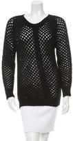 Isabel Marant Baby Alpaca Scoop Neck Sweater