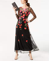 INC International Concepts Petite Embroidered Maxi Dress, Created for Macy's