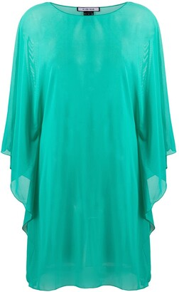 Fisico Sheer Floaty Style Tunic Top