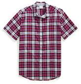 Tommy Hilfiger Regular Fit Short Sleeve Plaid Shirt