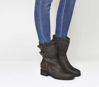 UGG Wilcox Mid Boots Stout Leather