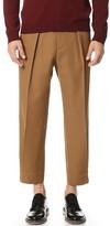 Marni Oversized Gabardine Trousers