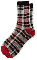 UGG Men's Plaid Jacquard Crew Socks