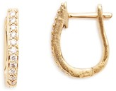 Links of London Gold & Diamond Hoop Earrings