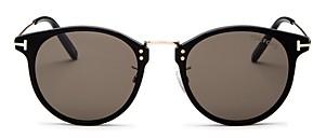 Tom Ford Men's Jamieson Round Sunglasses, 51mm