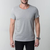 DSTLD Modern Crew Neck Tee in Black