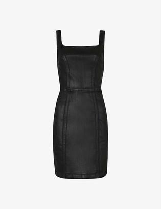 AllSaints Steph denim mini dress