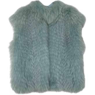 N. Saga Furs \N Blue Fox Coats