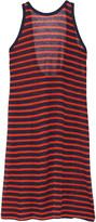 Alexander Wang Striped jersey mini dress