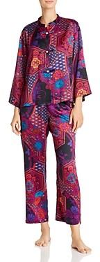 Natori Mandarin Empress Print Pajama Set