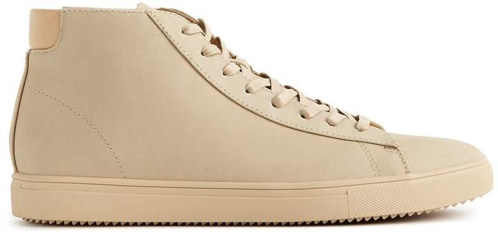 Reiss Bradley Mid Clae Mid Top Leather Sneakers